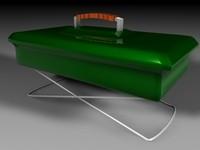 hibatchi grill 3d model