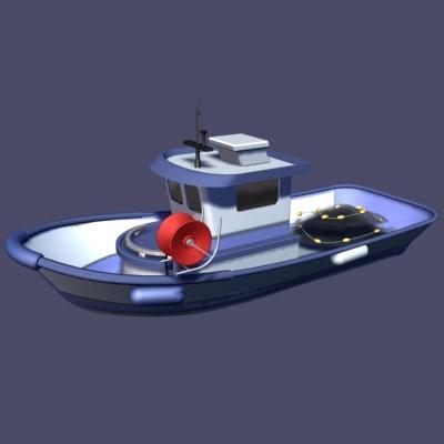 reel net 3d model