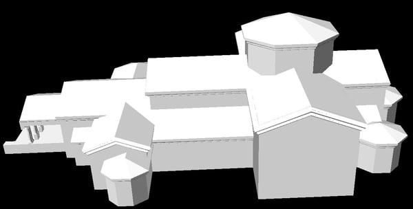 3d orthodox church model
