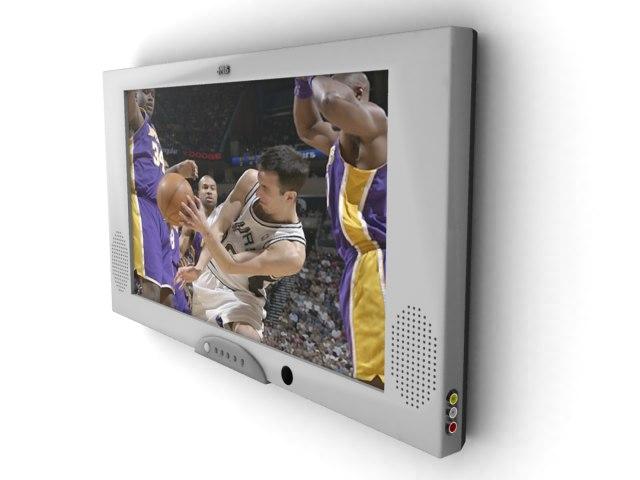 3d model screen television