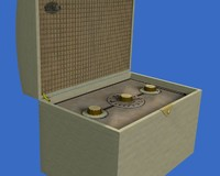 Sky Casket Portable Radio