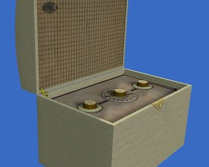 maya sky casket portable radio