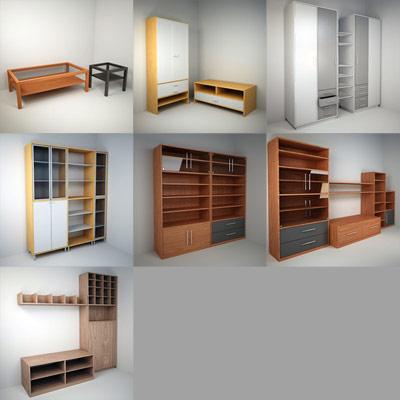 3d furniture set