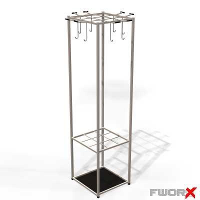 coat rack 3d model