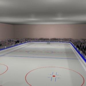 ice hockey rink max