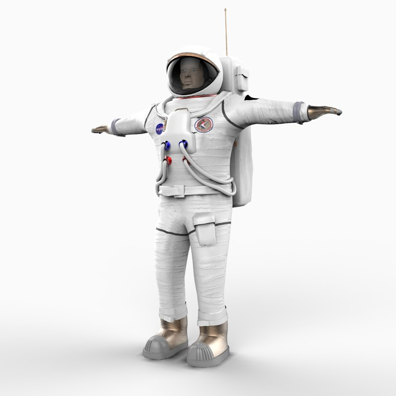apollo astronaut 3d model