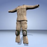 maya soldier uniform
