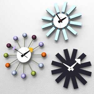 ball clocks irving harper 3ds