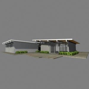3d model of joseph eichler home
