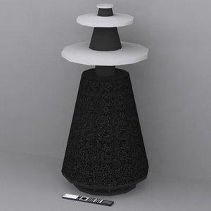 3ds max bang beolab 5 speaker