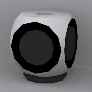 bang beolab 2 speaker 3d model