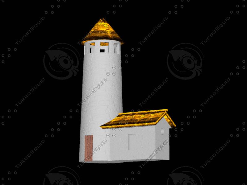 3d model lighthouse