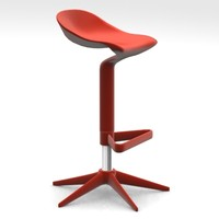 Spoon Stool Antonio Citterio MAX.zip