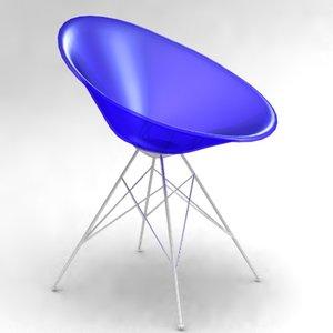 ero s chair philippe 3d model