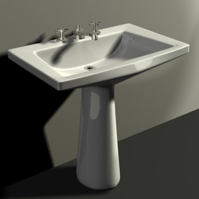 1953 sink grafton 3d max