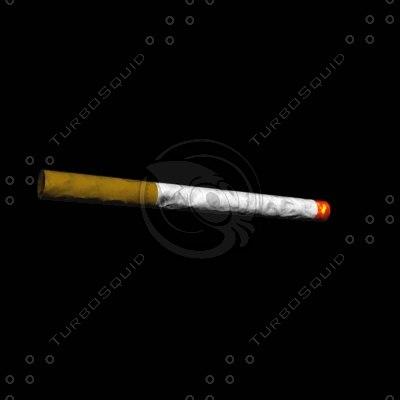 cigarette cigeratte 3d 3ds