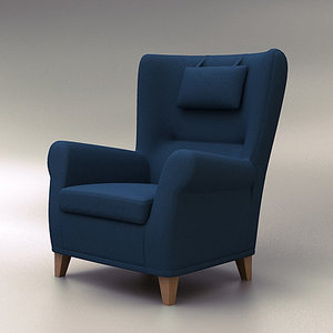3ds architecture furniture office chair seat