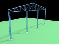 3d model structure ceiling
