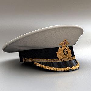 3ds max cap lieutenant commander