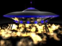 cinema4d flying saucer