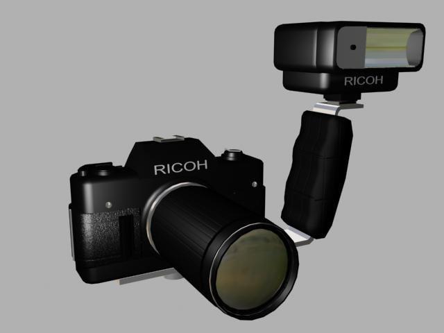 free max mode ricoh camera