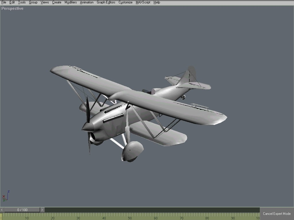 free max model gmax fighter aircraft plane
