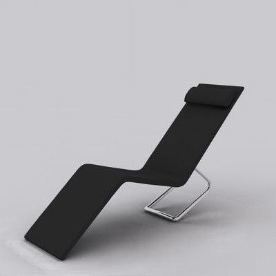 mvs chaise longue 3d model