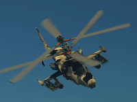 russian helicopter ka-50 black 3d max