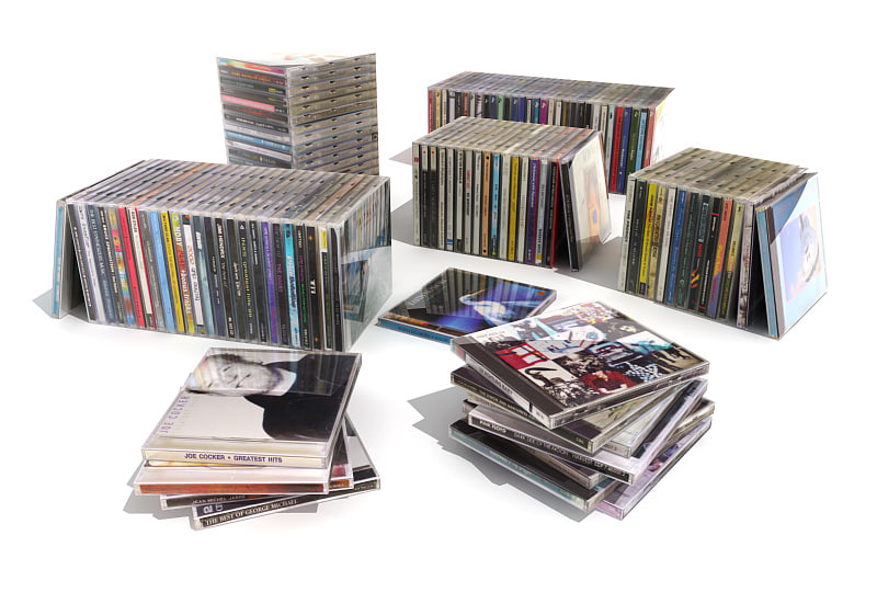 3d music cd s interior