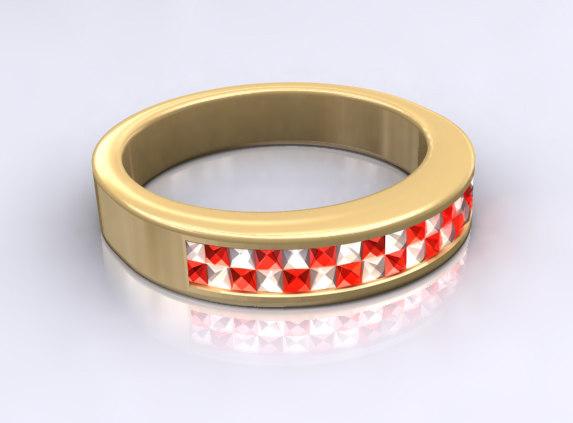gold ring x
