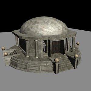 3ds max clerics temple