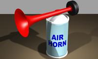 air horn 3dm