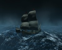 maya galleon ship