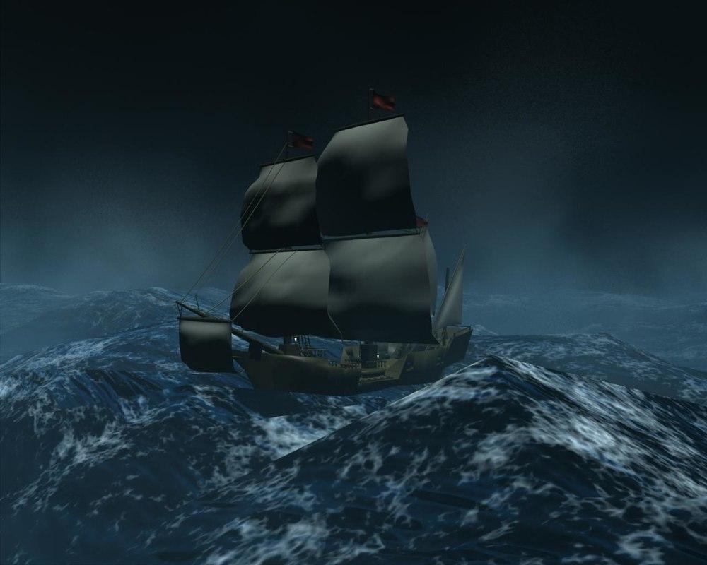 maya galleon ship