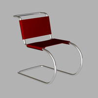 3d model mr 10 chair
