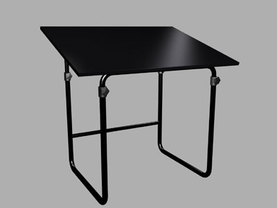 artist drawing table 3ds