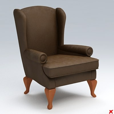 3ds chair lounge