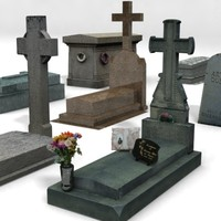 Cemetery - Tombstones Pack MAX