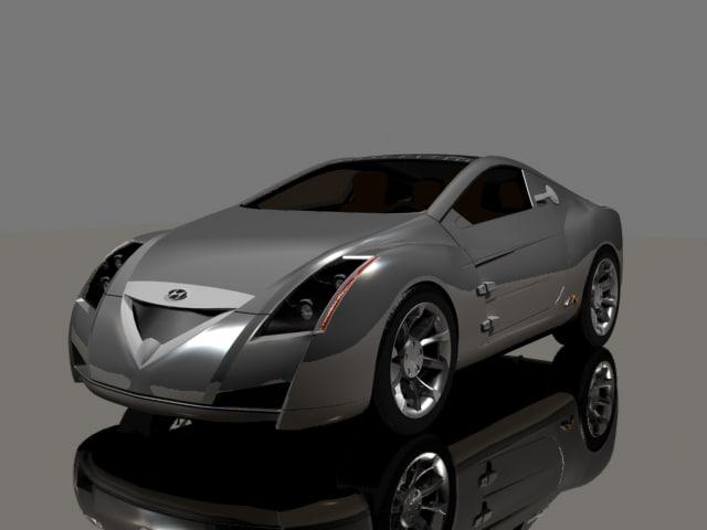 3d model hyundai auto sports