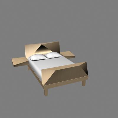 free max model retro bed furniture