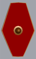praetorian guard shield 3d 3ds