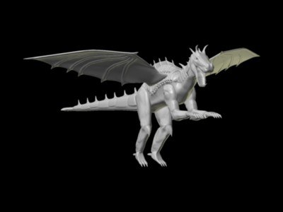 3ds max dragon king