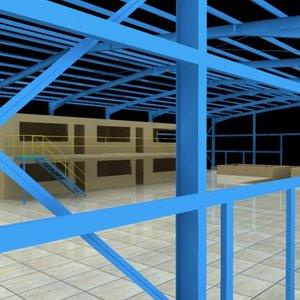 3d structure model