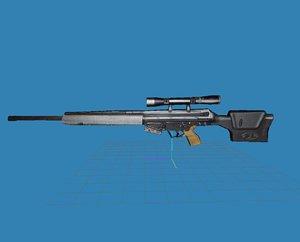 3d psg sniper