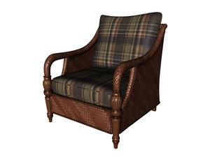 chair ratan 3d model