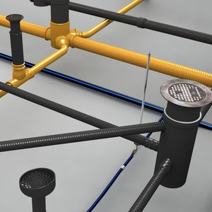 3d pipe-system dwelling pipes