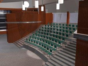 3d meeting auditorium