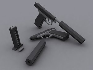 makarov 3d model