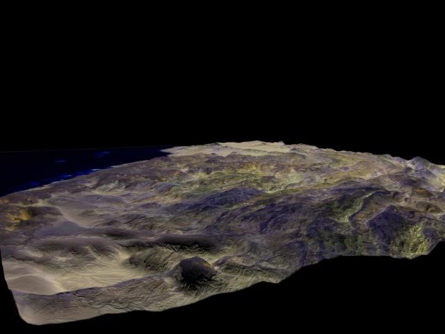 3dsmax arabia terrain