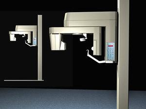 dental x-ray 3d model
